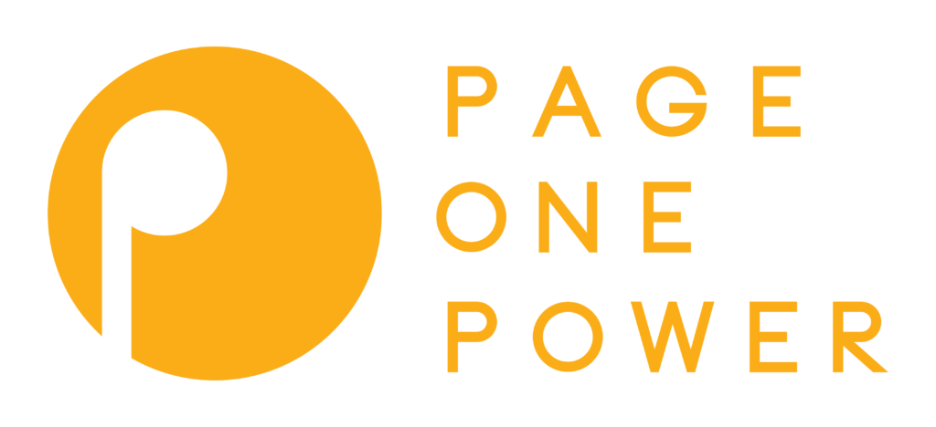Page One Power Sponsor 2021